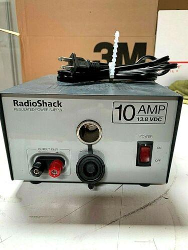 RadioShack  10Amp 13.8 volts DC Power Supply USED
