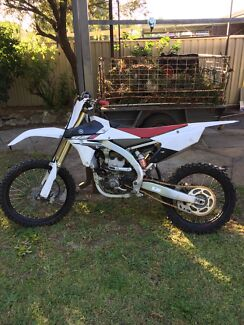 Immaculate 2014 YZ250F