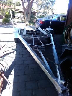 Boat Trailer 17 Ft Single Axle & Registration