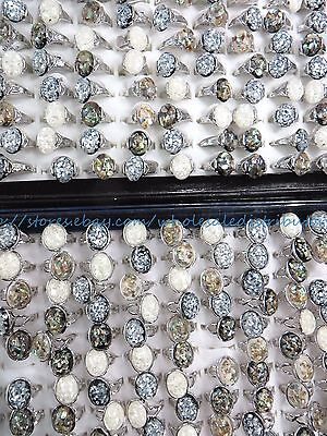 US SELLER- 15pcs  seashell wholesale ring costume jewelry cheap ](Cheap Halo Costume)