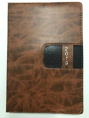 2019 Calendar Planner Appointment Book Daily Travel Agenda Notebook Tabbed