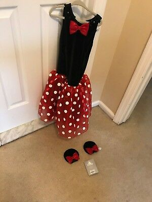 Minnie Mouse Disney Costume Junior Girls Size XXS