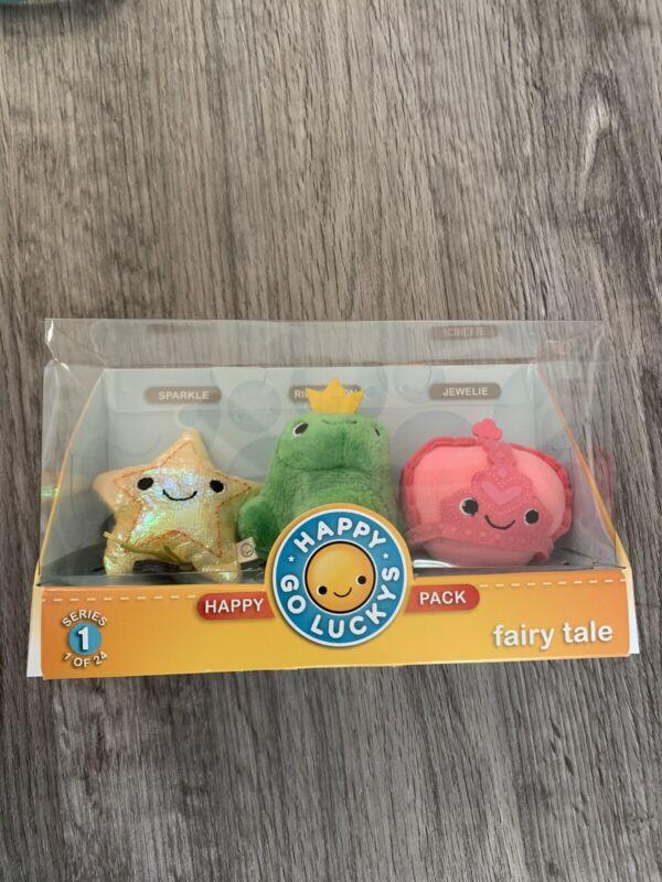 Hallmark Happy Go Luckys FAIRYTALE Series 1 #1 of 24 Happy Pack Plush NIB