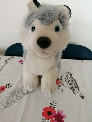 Husky dog soft toy