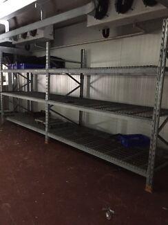 Factory, garage heavy duty shelving