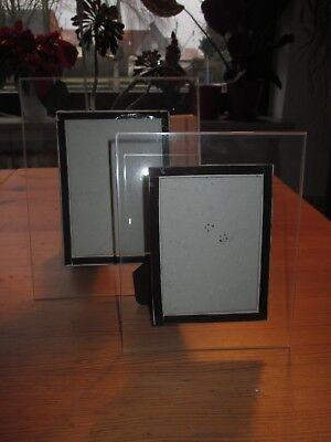 Bilderrahmen durchsichtig 2 Stück Set 16x20cm 19x25cm OVP Neu (Bilderrahmen 20 X 16)
