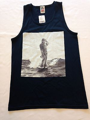 Urban Outfitters Star Wars CHEWIE DON'T SURF MEN's Tank Tops NEW S, M, L or XL