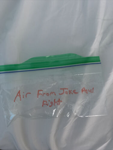 Bag Of Air From Jake Paul Fight - $15.00