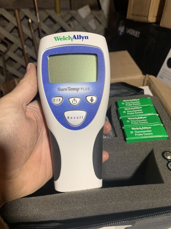 WELCH ALLYN  thermometer 692 With Oral And Rectal Probs