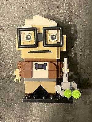 Custom Lego Brick Headz Carl Fredricksen Disney's Up