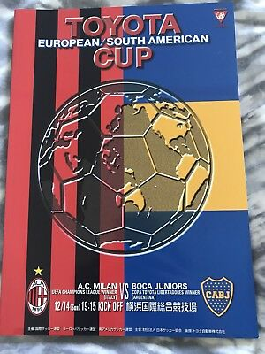 2003 Toyota Cup Final Programme - AC Milan v Boca Juniors