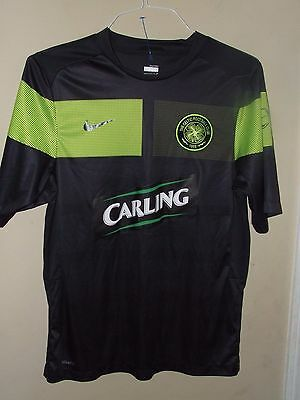 Nike Sz Small The Celtic Football Club Soccer Jersey Fit Dry Carling Green 1888  image