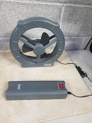 Coleman Camping Hiking Battery Powerful Window Cool Fan Model (Cooling Glass Models)