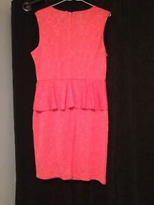 Pink dress size Large