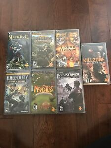 PSP games - used in excellent condition