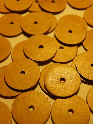 50 Gelenkscheiben / Pappscheiben 10 mm für Minibären / kleine Teddys (Teddys Bären)
