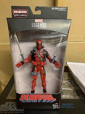 Marvel Legends 6 Inch Xmen Red Deadpool Sasquatch Series BAF Xmen Rob Liefeld