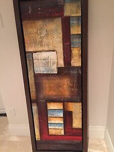 Abstract art oil painting
