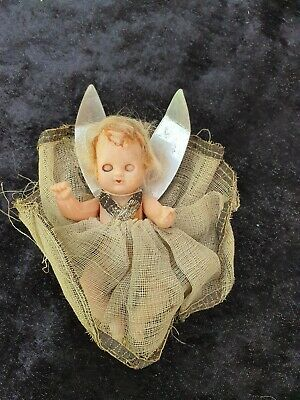 Vintage christmas fairy doll