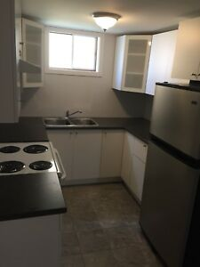 1 bedroom basement apartment $1000 all included