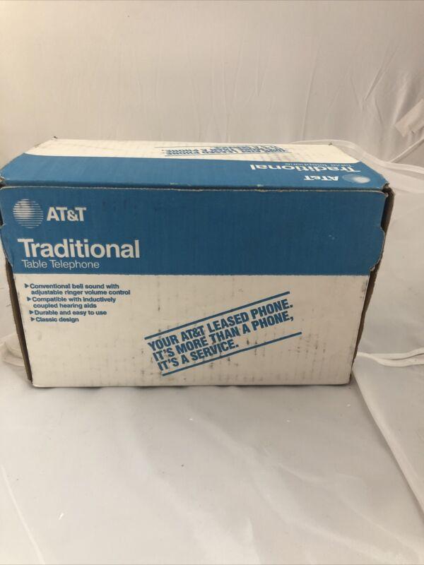 ATT Traditional Table Telephone Vintage Rotary