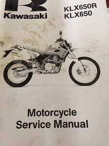 1993-1996 Kawasaki KLX650 Service Manual