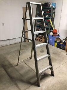 6 Foot Steel Ladder