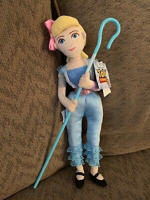 "Disney Toy Story 4 Little Bo Peep Plush 15"" - NWT Rare HTF In Hand"