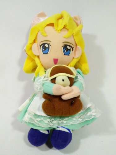 Sakura Wars Taisen Iris Chateaubriand Plush Doll Sega 1997 VTG Japan Anime 7.5""