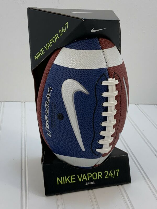 Nike Vapor 24/7 2.0 Junior Size Football Blue/Brown