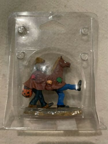 RETIRED Lemax Spooky Town Halloween - Giddy Up Horsy #22594A