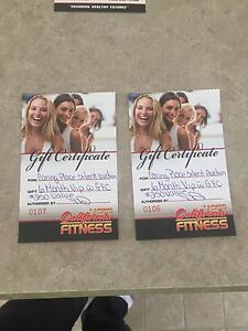 California Fitness 6 month VIP with GFC passes