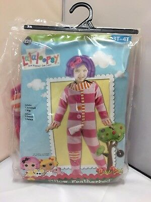 Pillow Featherbed Lalaloopsy Halloween Costume Dress Up Toddler 3T - 4T ](Lalaloopsy Pillow Costume)
