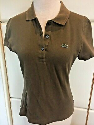 LACOSTE Women's Olive Green Top