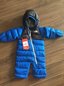 North Face bunting snow suit