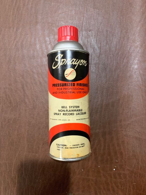 Bell System Sprayon Lacquer