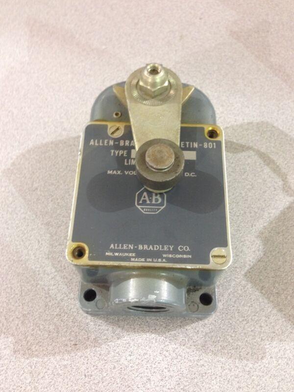 USED ALLEN-BRADLEY LIMIT SWITCH  801-ASN21X