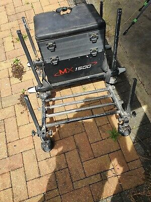 Maver fishing seat box mx 1500 and a few bits and bobs