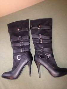 Size 8 Halloween buckled boots