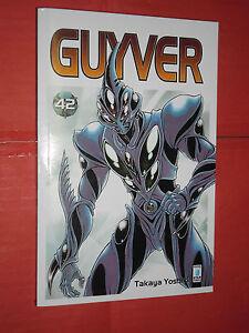 GUYVER-N-42-STAR-COMICS-DISPONIBILE-N-1-43-COMPLETA-DI-TAKAJA-YOSHIKI