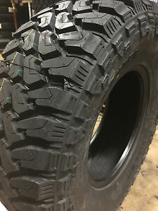 5 NEW LT 35x12.50R17 Cent Dirt Commander M/T Mud Tires MT 35 12.50 17 R17 10ply