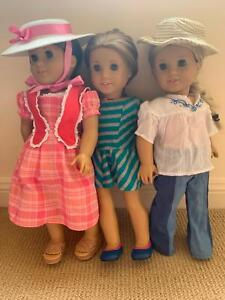 American Girl Bundle-clothes, dolls, accessories