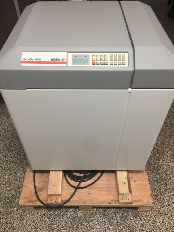 AGFA ACCUSET 1000 Completely Refurbished