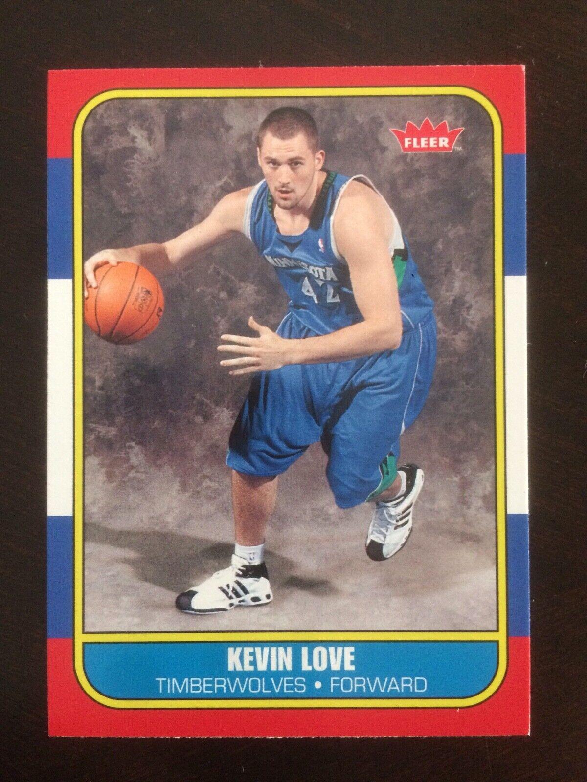 2008-09 Fleer 86R-167 Kevin Love ROOKIE, Sharp Centered  - $1.00