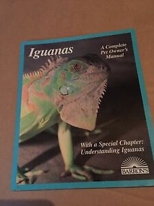 IGUANA IGUANAS book - Pickering