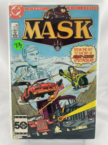 MASK #1 (Original 1985 Mini-Series) DC Cartoon Adaptation, High Grade!