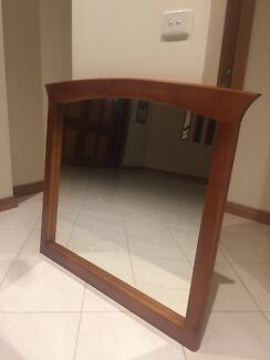 New Solid Tasmanian Oak Hanging Mirror