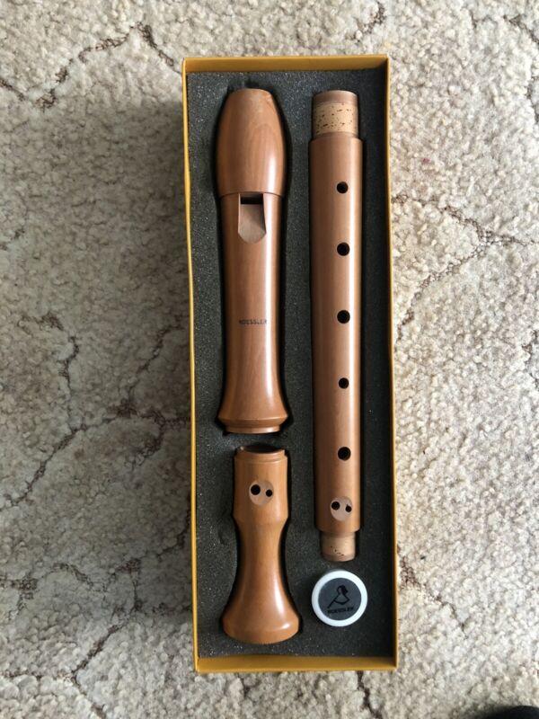 Roessler Wooden Alto Recorder