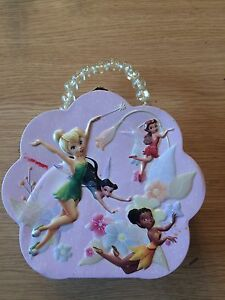 Tin Disney's Tinkerbell Fairies toy case