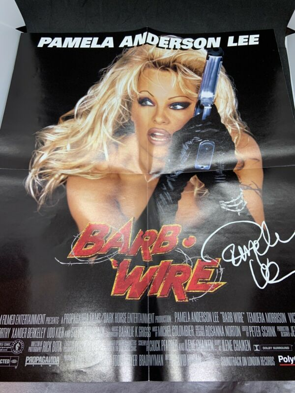 Pamela Anderson Barbwire Poster Lee Movie Promo